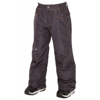 686 pantalon technique enfant ltd destructed denim ins black