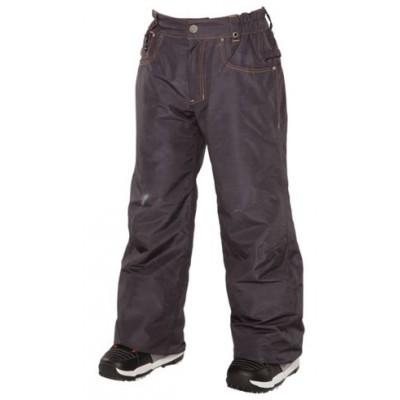 686 Pantalon Technique Enfant Ltd Destructed Denim Ins Black