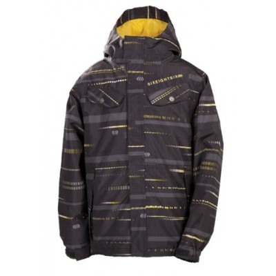 686 Veste Technique Enfant Smarty Echo Ins Jacket Gunmetal