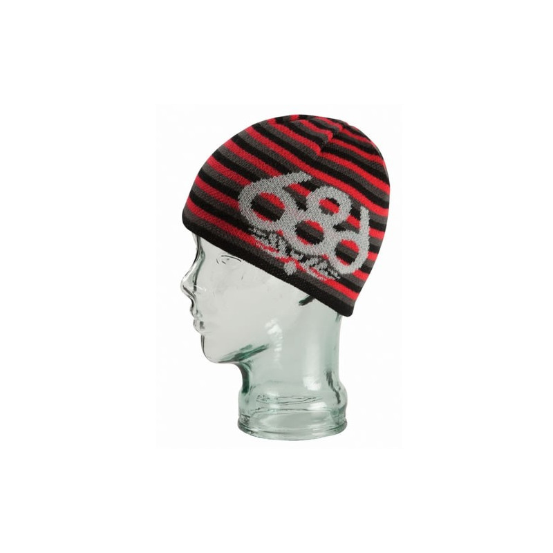 686 bonnet enfant wreath fleece beanie junior red