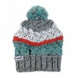 NEFF bonnet à pompon WHIM BEANIE GREY / WHITE