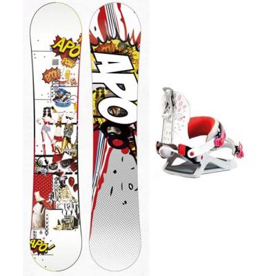 Snowboard Apo Podium + Dual G1.0 Belluga S 2014