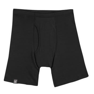 Ibex Sous-vêtement Homme Woolie 150g Boxer Brief Black