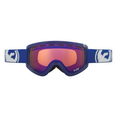 Dragon masque d2 solid navy / blue steel + amber