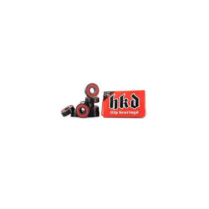 Flip Roulements de skate HKD ABEC5 (jeu de 8)