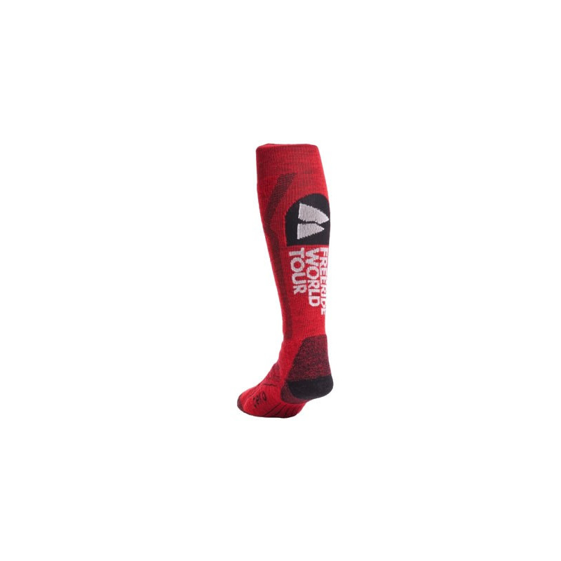 Teko chaussettes enfant ski WORLD TOUR junior RED