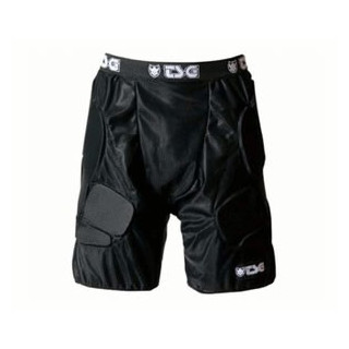 TSG short de protection CRASH PANT impact BLACK