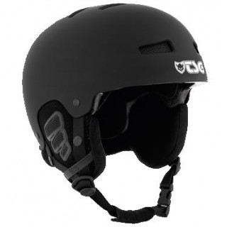 TSG casque de protection GRAVITY SOLID COLOR FLAT BLACK