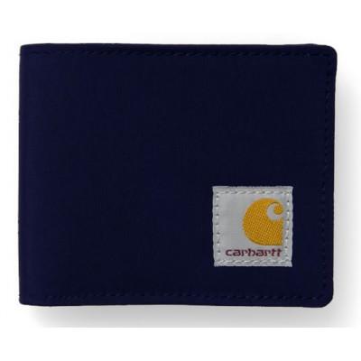 Carhartt portemonnaie ligne frost bleu marine
