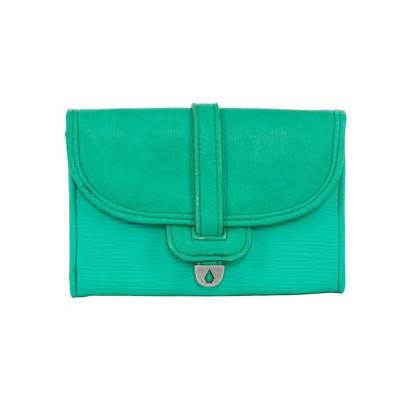 Volcom portemonnaie modèle nothing metal vert jade