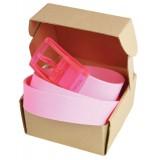 Picture ceinture modèle plastique pink