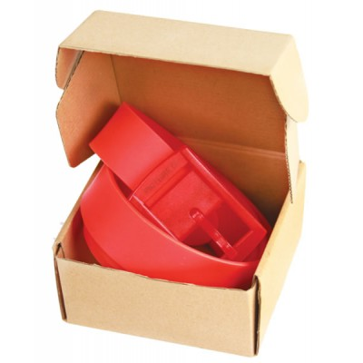 Picture ceinture modèle plastique rouge