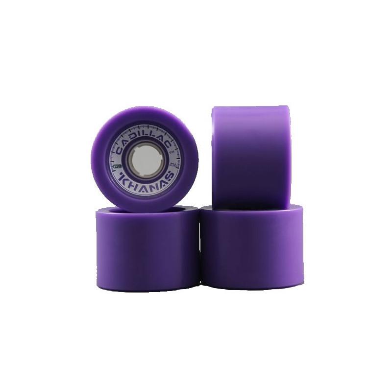 Cadillac pack de 4 roues violettes 70mm x 86a