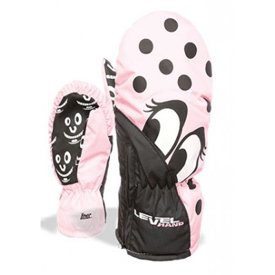 Level Moufles Lucky Mitt Junior Pink