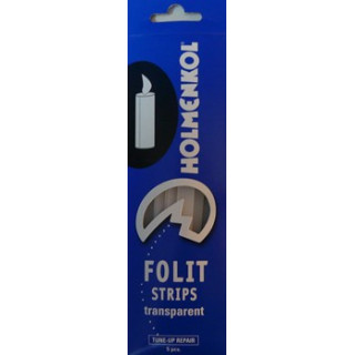 BATONNET INCOLORE 5 PIECES FOLIT STRIPS