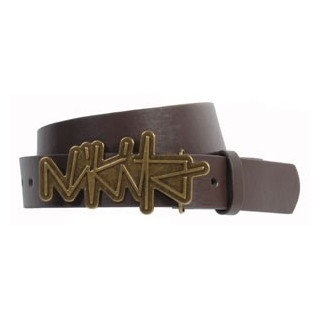Nikita pales belt LADY brass / earth