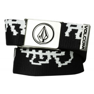 Volcom CIRCLE WEB BELT BLACK-COMBO