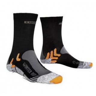X-Socks RUN WINTER BLACK