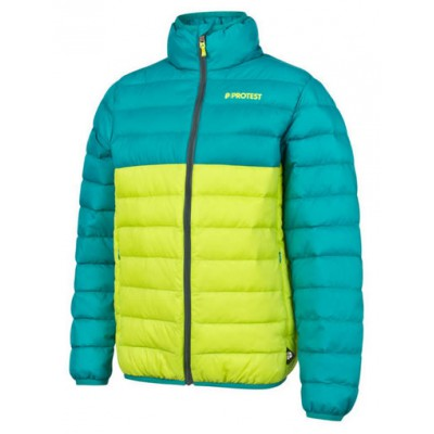Protest elvin packable down jacket junior meadow green