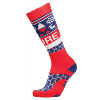 Picture chaussette Ski atzuu socks RED