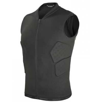 Dainese waistcoat soft flex black / green flash