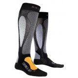 X-socks CARVING ULTRALIGHT NOIR / ORANGE