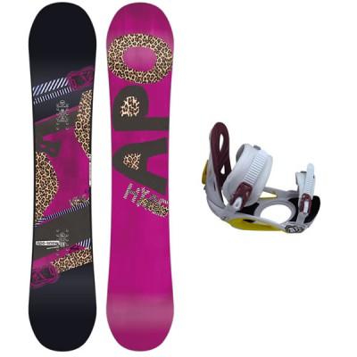Apo Snowboard HYPE + FIX CLASSIC S 2015
