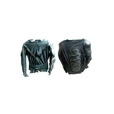 Veste De Protection Dosale Black