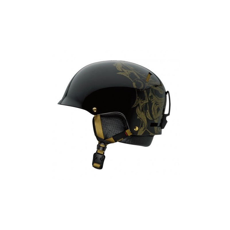 Giro REVOLVER MATTE BLACK / GOLD MASK