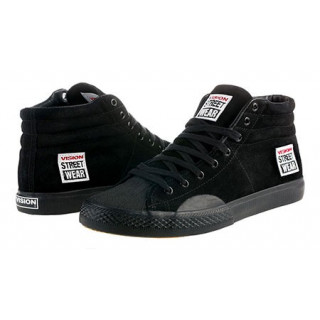 Vision Skate Shoes Suede Hi