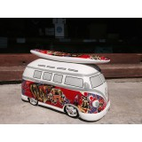 Ocuk CAMPER MONEYBOX GRAFFITI RED0