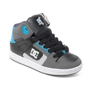 Dc Shoes Rebound KB BLK/BATTLESHIP/TURQ junior