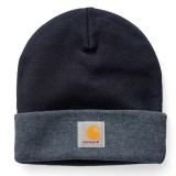Carhartt MASON WATCH HAT DARK NAVY / DARK NAVY HEATH
