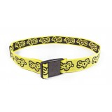 SAGA elastic belt flux yellow