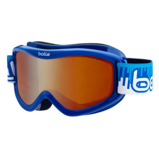 bolle masque ski snow volt blue equalizer citrus dark