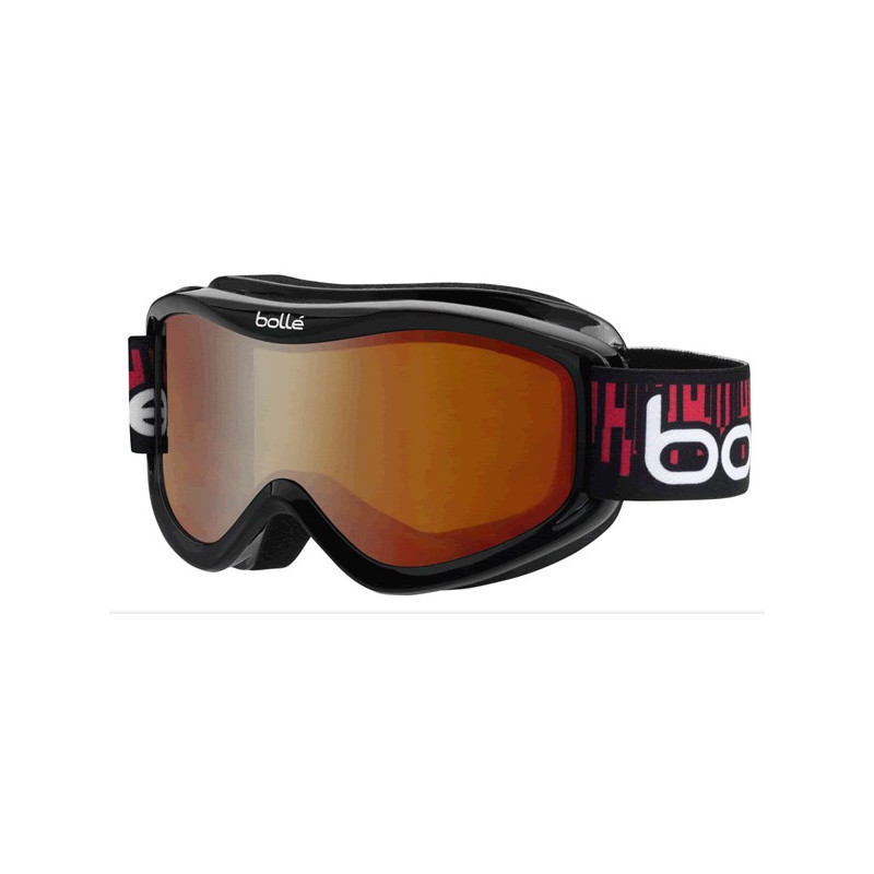 BOLLE MASQUE SKI SNOW volt black equalizer citrus dark
