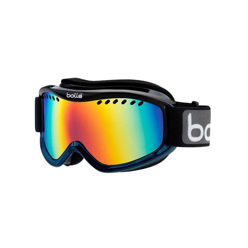 BOLLE Masque ski snow carve black blue fade sunrise