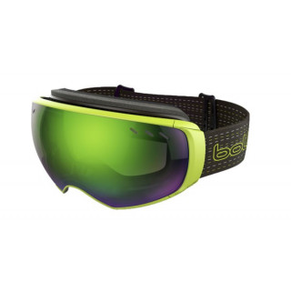BOLLE Masque ski et snow virtuose black & lime green emerald