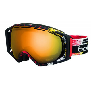 BOLLE MASQUE SKI ET SNOW gravity matte black & red zenith citrus gold