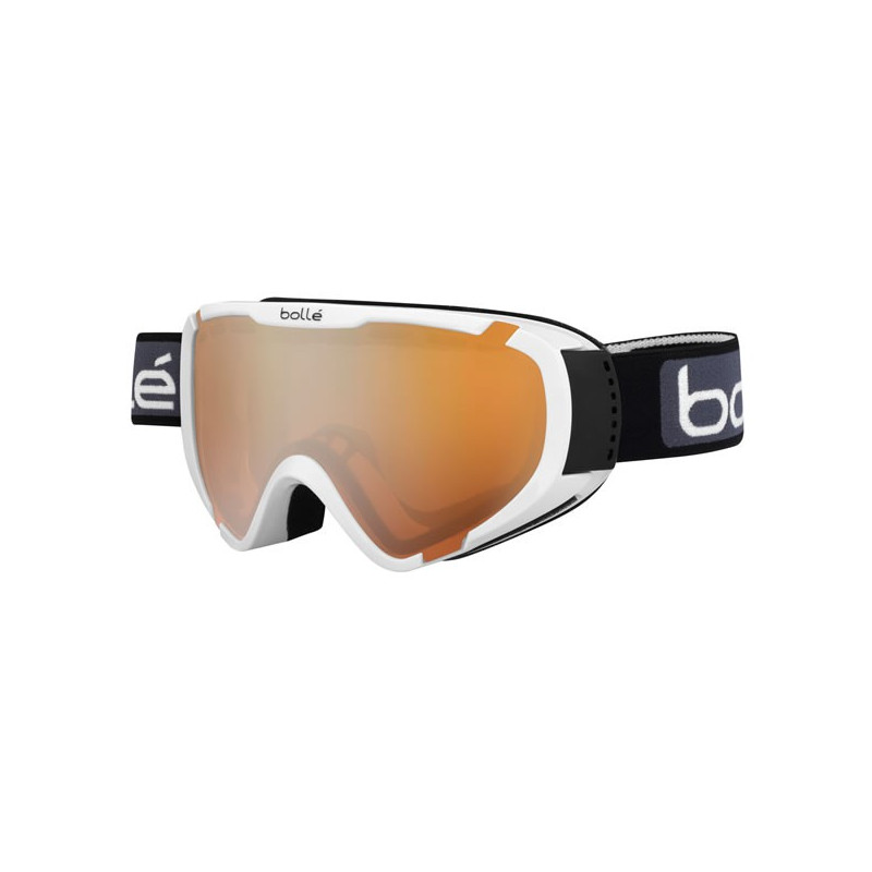 BOLLE masque snow et ski explorer otg shiny white citrus gun