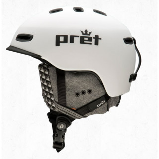 Prêt Casque CYNIC RUBBER white