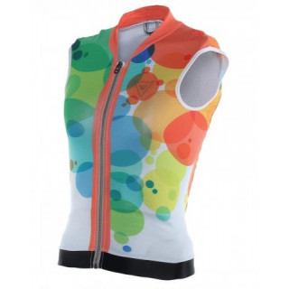 Dainese waistcoat soft flex kids planets/light-red