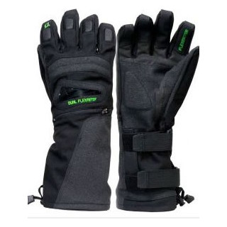 Demon flexmeter double sided wristguard glove- black