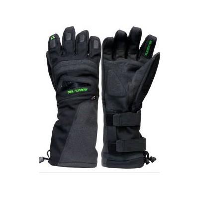 Demon flexmeter gant avec double protection poignets - black