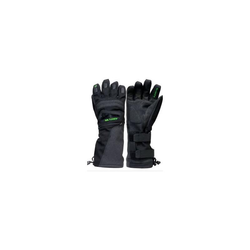 Demon flexmeter double sided wristguard glove- black