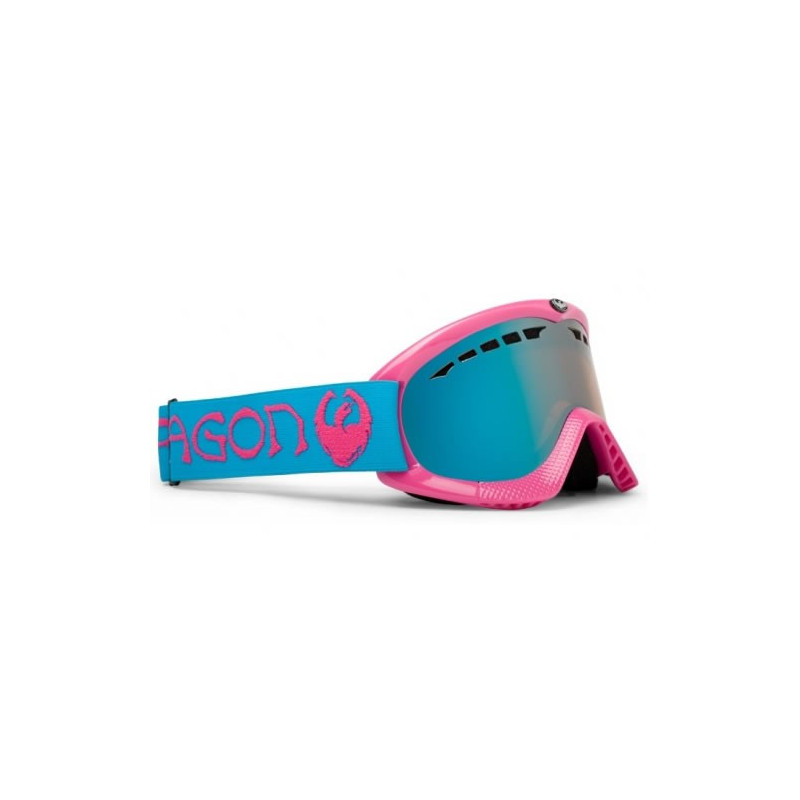 Dragon DXS ORIGINAL GANGSTA PINK / BLUE IONIZED + AMBER