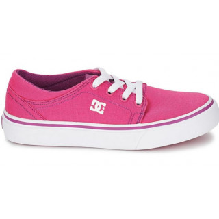 Dc Shoes trase tx se g shoes youth pink/ white