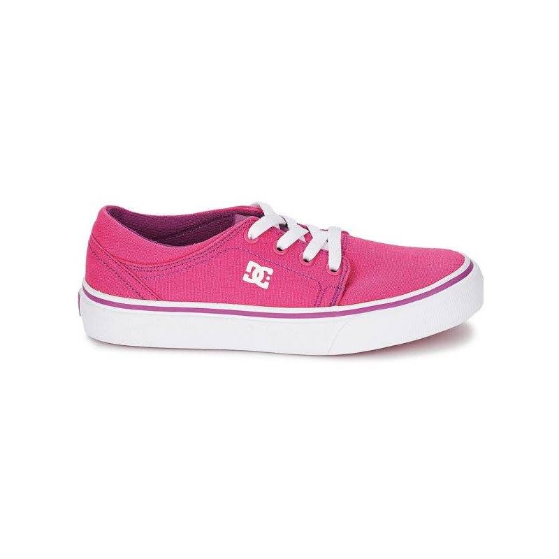 86cc2de076b2d Dc Shoes trase tx se g shoes youth pink  white EUR Size 35