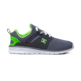 Dc Shoes heathrow b shoes youth grey/white/green