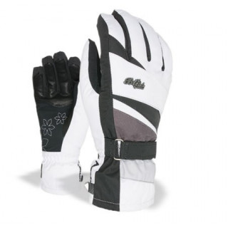 Level gant bliss venus mitt noir/blanc